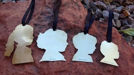 Custom Silhouette Ornament