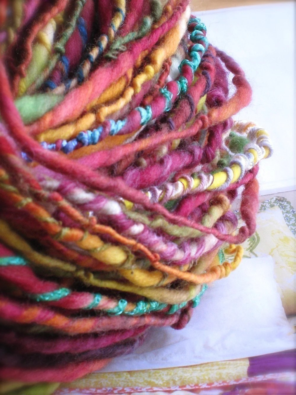 PARFAIT - handspun and handpainted gypsy yarn by pancake and lulu