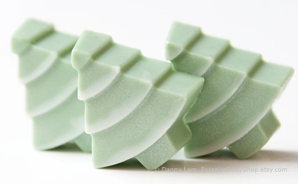 Through the Woods - SMALL Christmas Tree soap