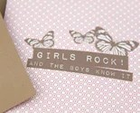 Girls Rock - Perfect for a new baby girl or your girlfriends