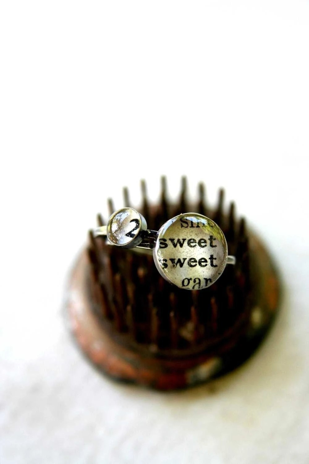2 sweet ring set