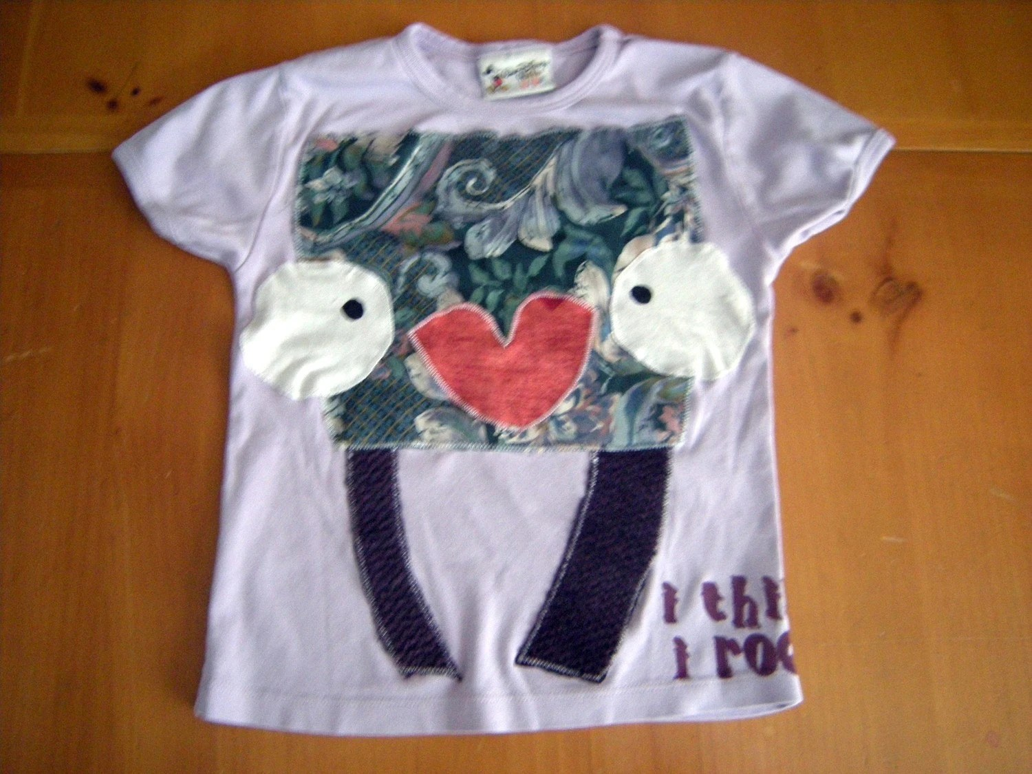 BEAUTIFUL BRIDGET recycled tee - 8-10 years