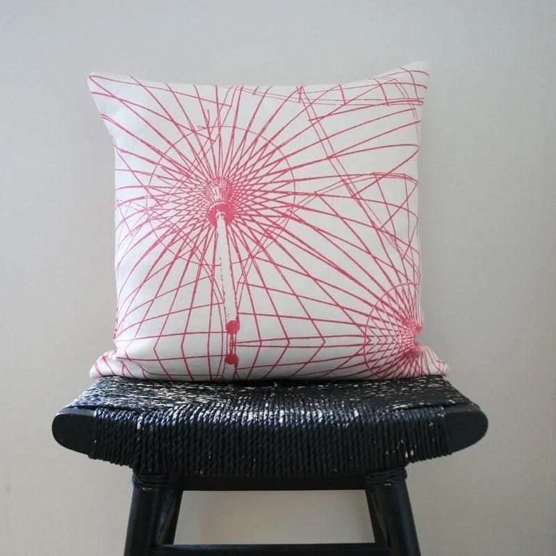 KALAIDASPOKE Linen Cushion Cover 45 x 45 cm