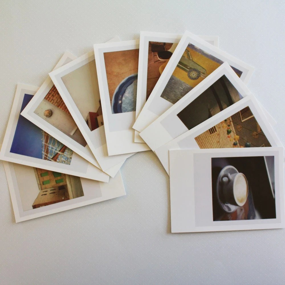 here / there postcards