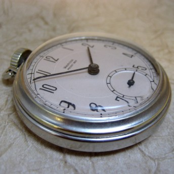 Vintage Westclox Pocket Ben Pocket Watch  -  Manufactured in Canada August 1948