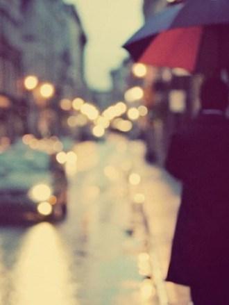the estate of things chooses i love walking in the rain art print