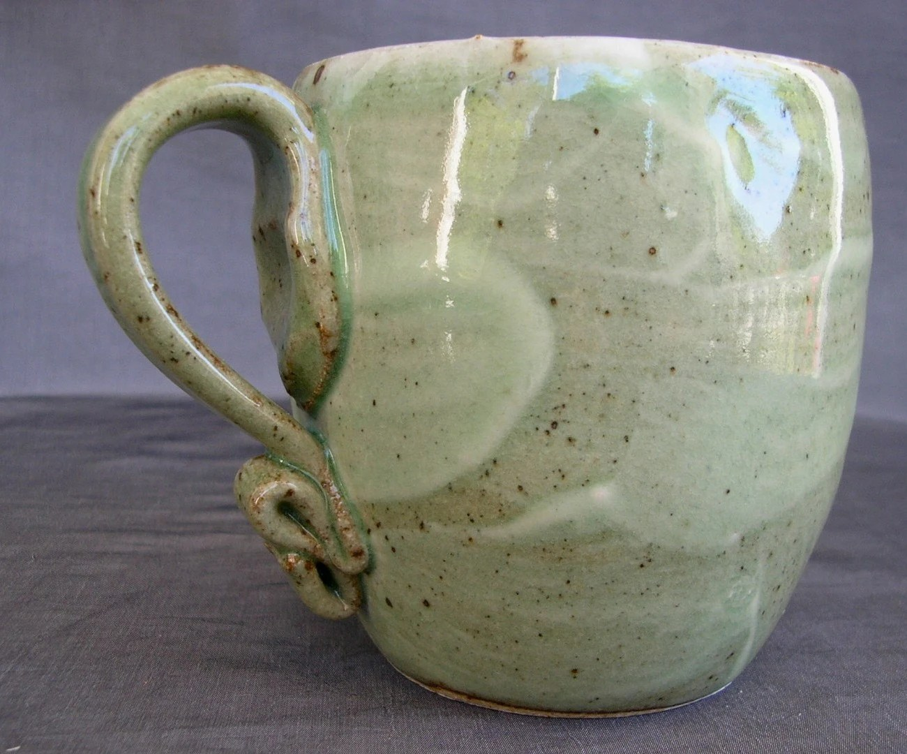 Big Green and Blue Mug