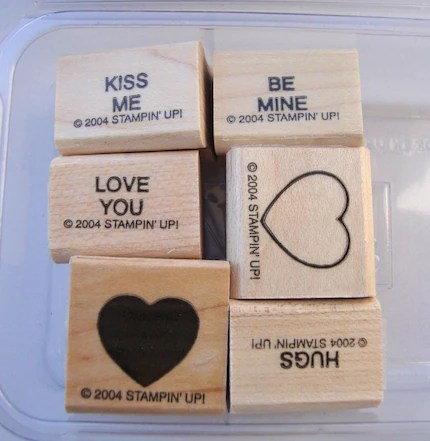 Sweet Talk, Two-Step Stampin, Stampin UP Stamp Set, DESTASH