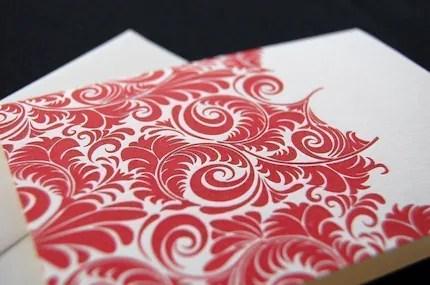 Letterpress greeting card by pistachiopress