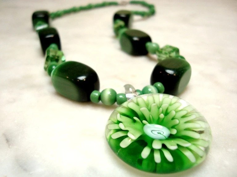 Heather Loves Green... Necklace