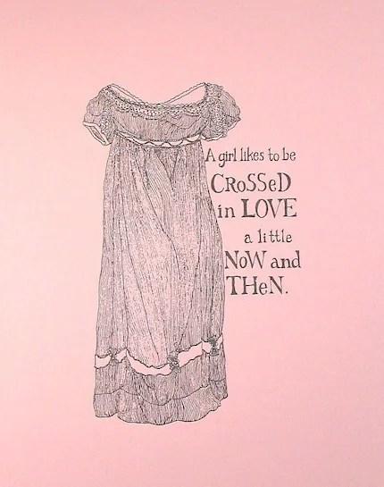 Crossed in Love (print)