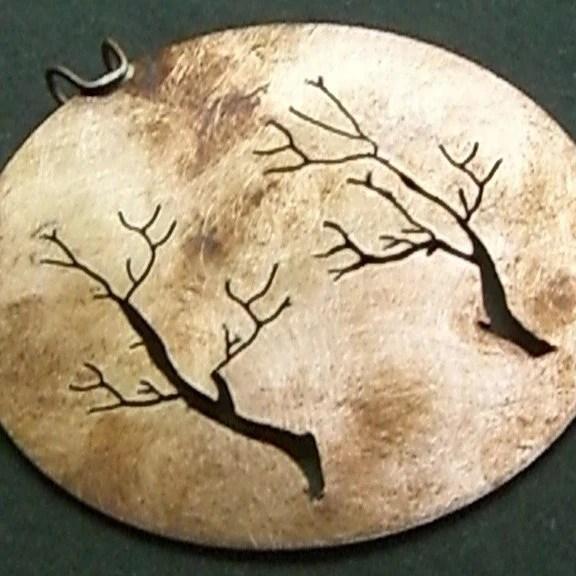 Copper Trees of Life Pendant