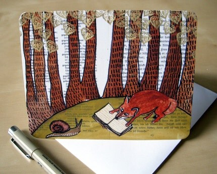 Storytime Fox Card