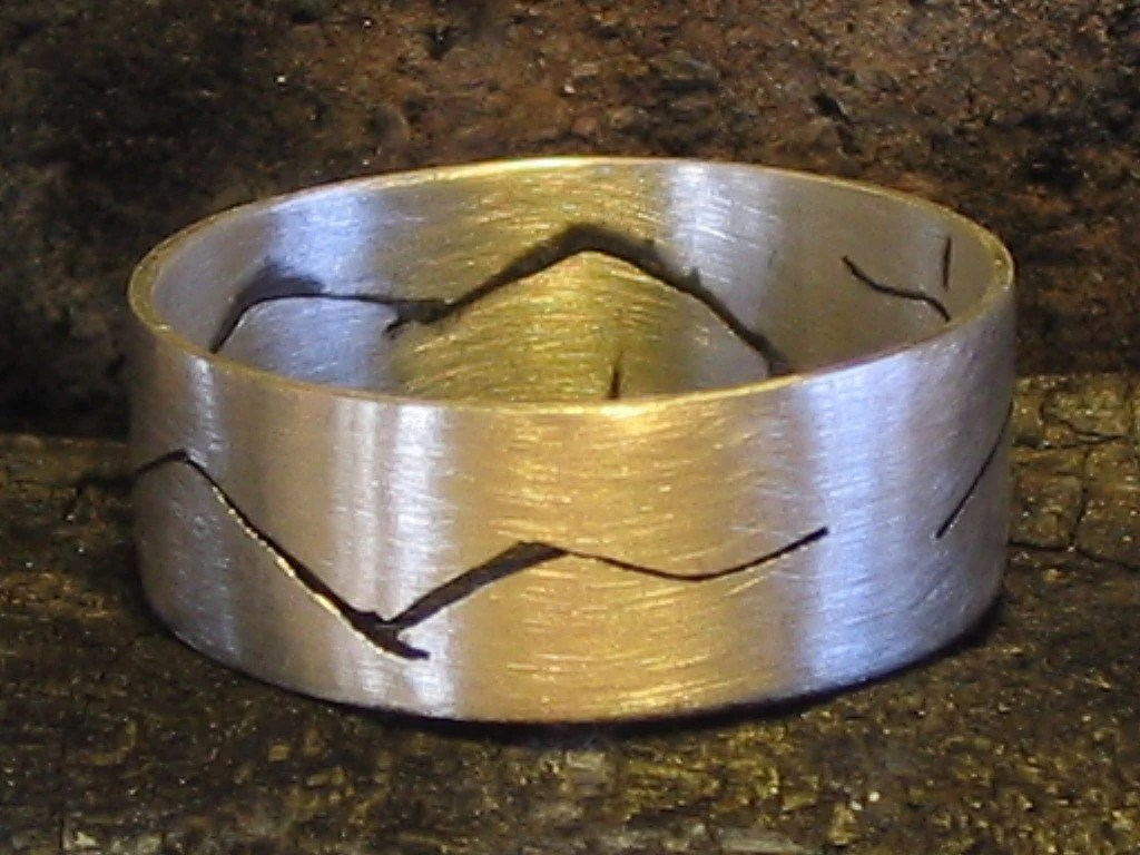 Sterling Silver Seagull Bird Handmade Ring Band