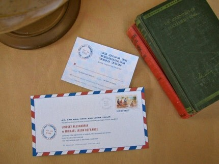 Airmail Invitations