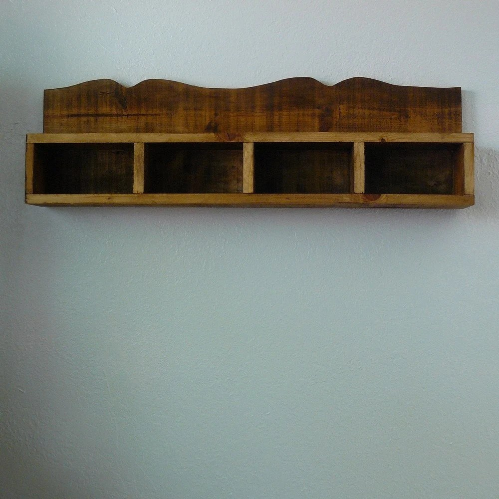 recycled wood shadow box