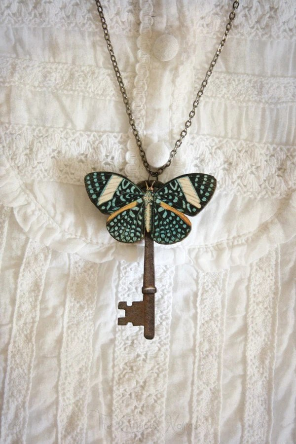 A Butterfly's Secret - Necklace