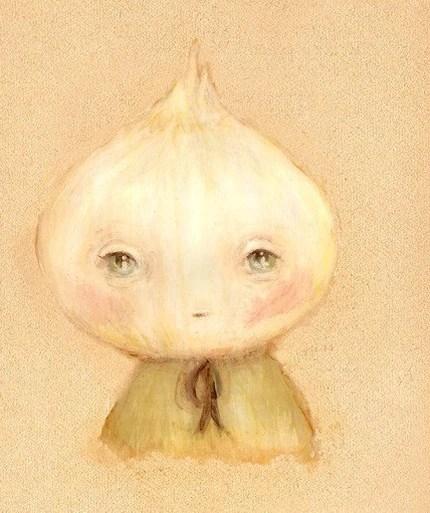 Little Onionhead Print