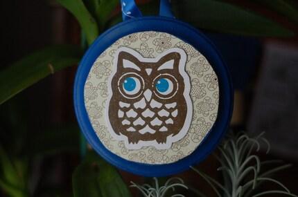 Owl Be Watching You Wall Art