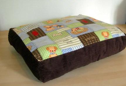 Puppy Print Cushion
