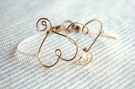 1. Two Hearts Bracelet
