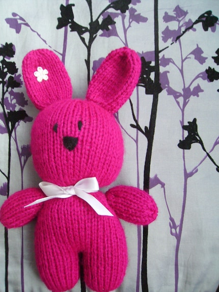 2. Pretty in Pink Bunny