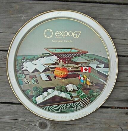 Souvenir Tin-Expo '67 Montreal, Canada