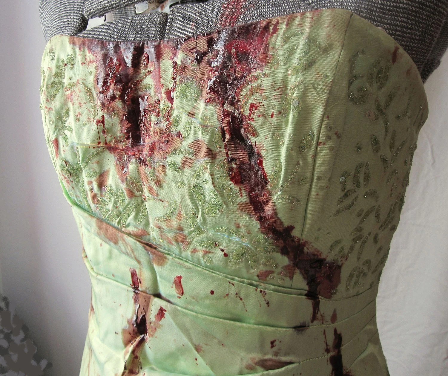 Bloodied Prom Dress