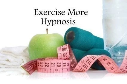 Exercise More Hypnosis CD or mp3 Download. Get Motivated to Exercise Quickly and Easily with Hypnosis