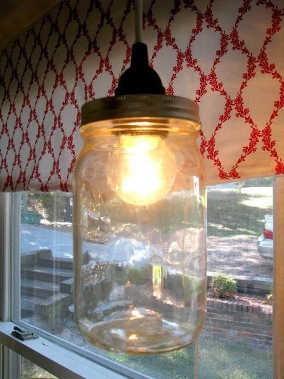 Mason Jar Electric Lantern