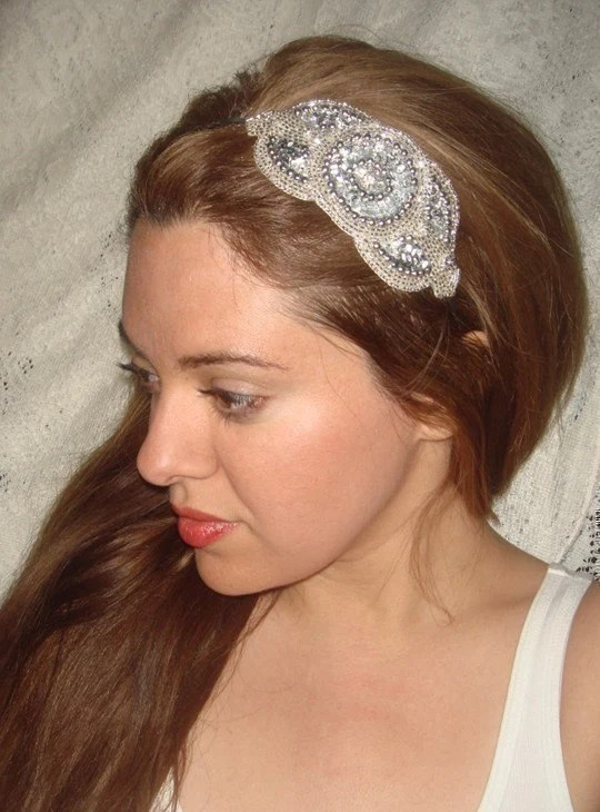 Royale Silver Headband