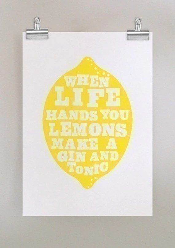Lemon quote