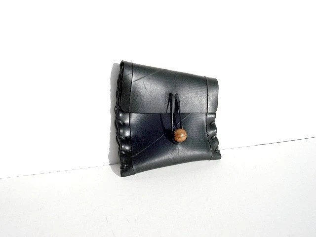 Handmade Recycled Rubber Wallet (Ruff Rider collection 004)
