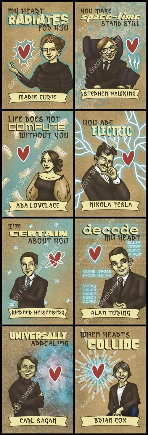 Science Valentines