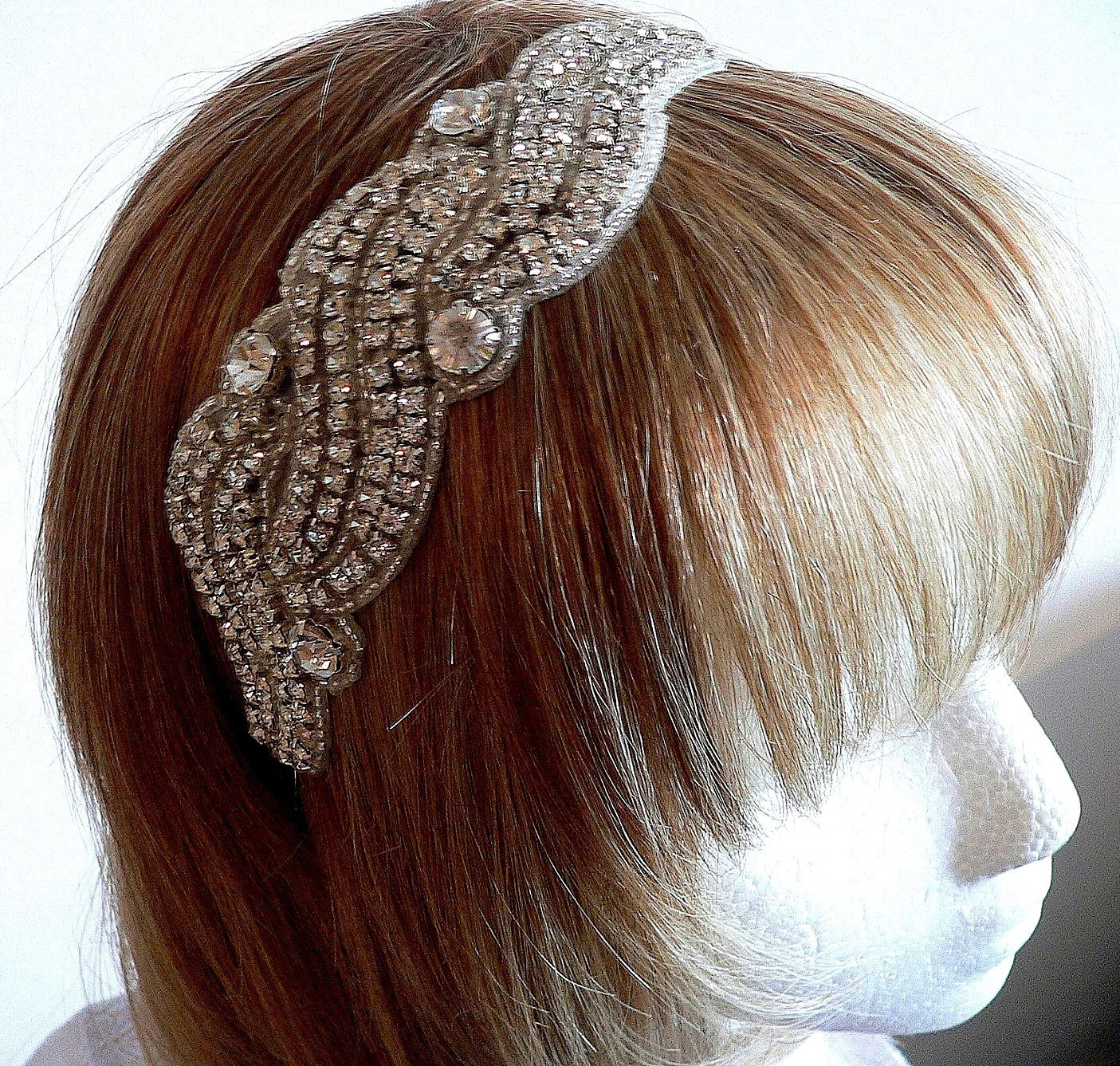 Bridal or special ocassionCrystal Headband