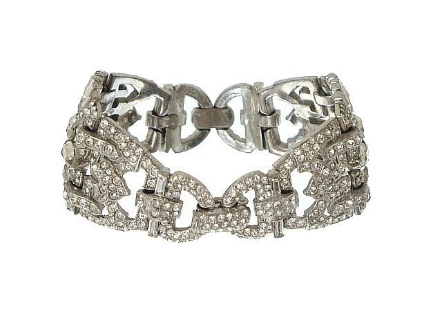 Art Deco Antique Bracelet 1920s, High Art Deco Jewelry