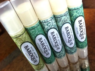 Green & Botanical Set - Solid Perfume Sticks - Oakmoss, Verbena Bamboo, August Orchard, Ocean Cucumber, Sea Petal - Handmade Travel Size Fragrance - All Natural Base