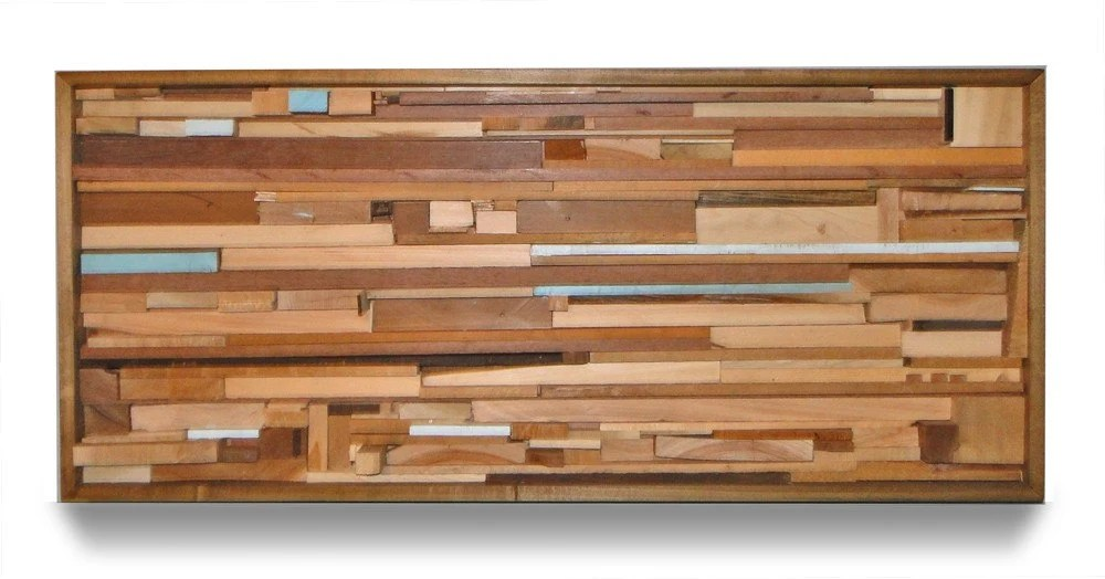 Recycled Wood Wall Hanging