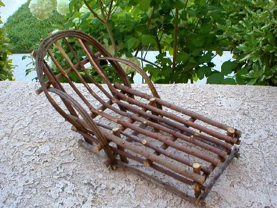 Handmade Twig Chair Lounge Chair