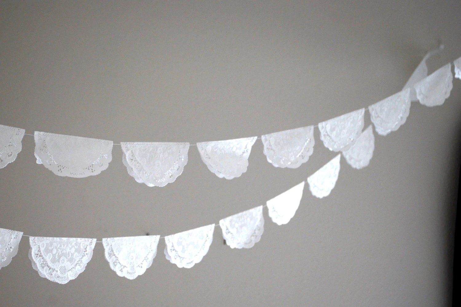 Paper Lace Garland - 10'