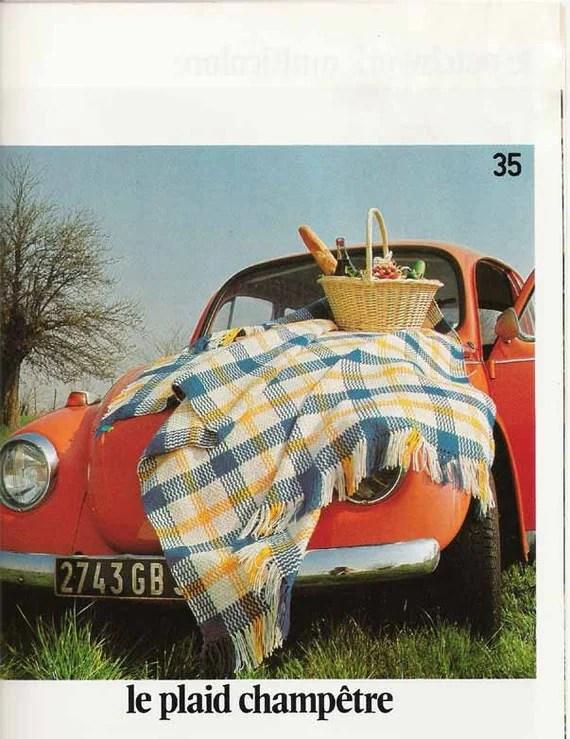 1974 French Crafts & Knitting Magazine - Phildar Décoration et Loisirs