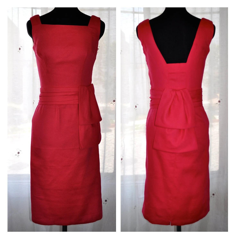 Wiggle Dress in Vintage Fuchsia