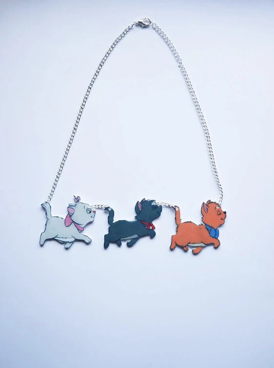 Everybody Wants to be a Cat - Aristocats necklace