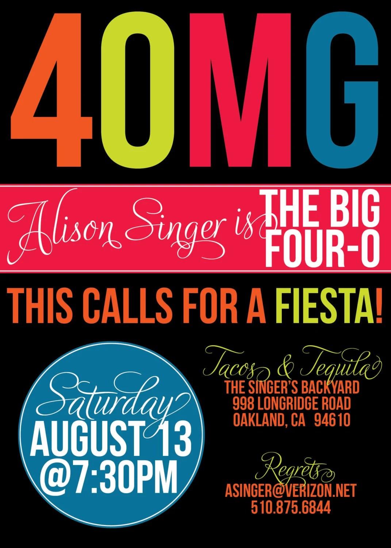 OMG Birthday Party Invites – Jimmy Buffett Party Invitations
