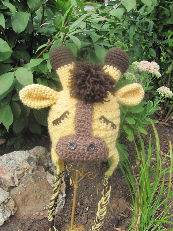 Speckled Frog's Sweet Slumber Giraffe Hat