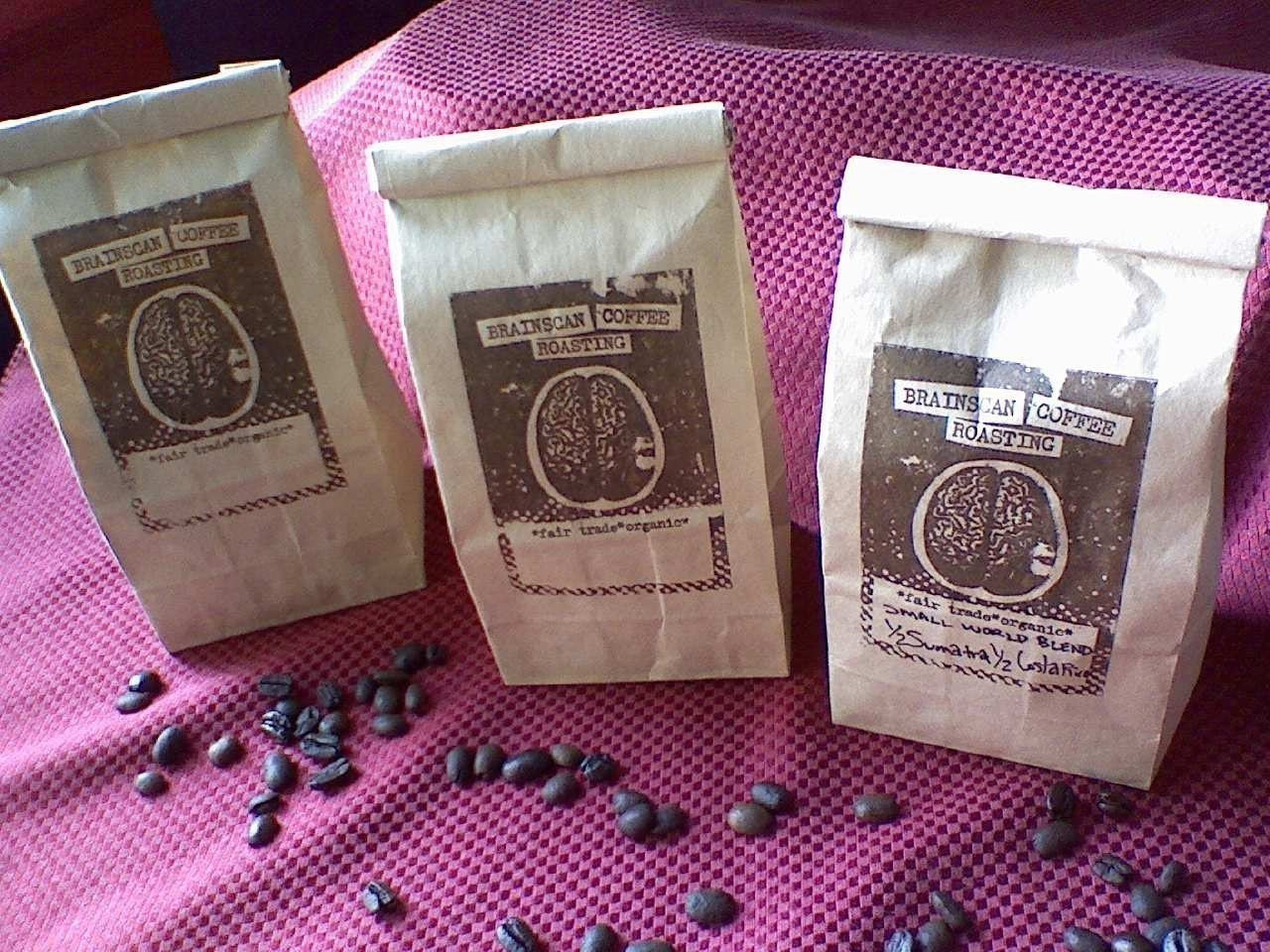 Brainscan Coffee 3 pack of 8 OZ bags YOU PICKTHE COMBO