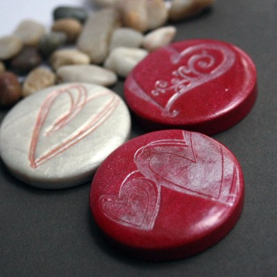 valentines day magnets by arjunajewelry
