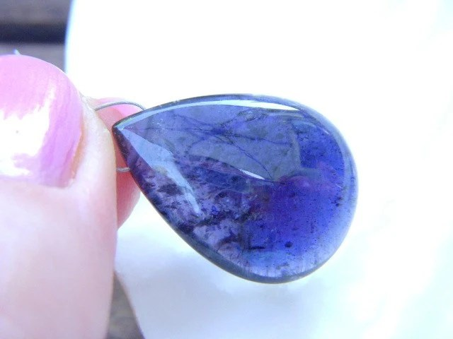 gorgeous blue iolite