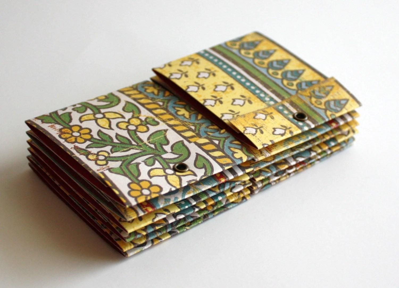 Wild Saffron Matchbook Notepads