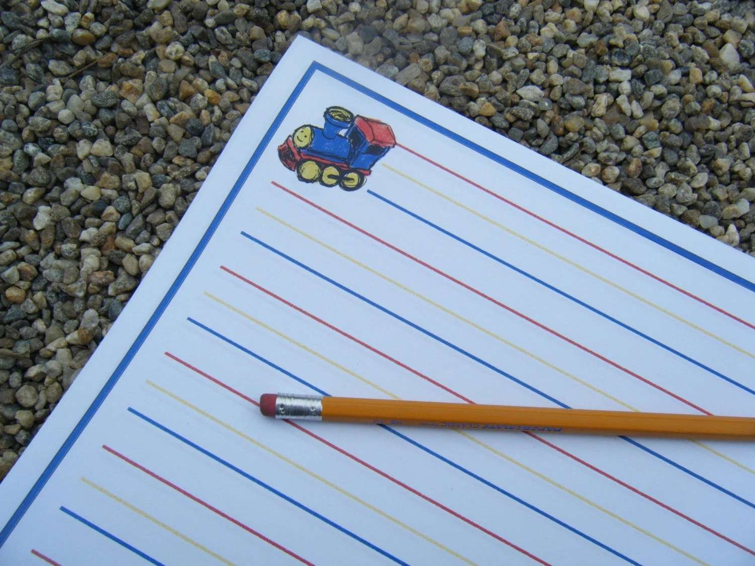 Toy Story Writing Paper
